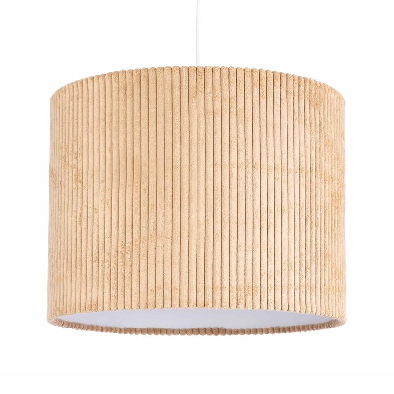 Hängelampe 'Pem' Cord beige 40cm