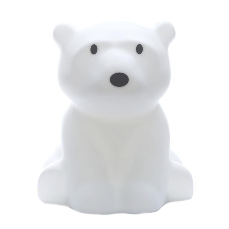 Lampe 'Eisbär Nanuk' LED weiß ca. 42cm