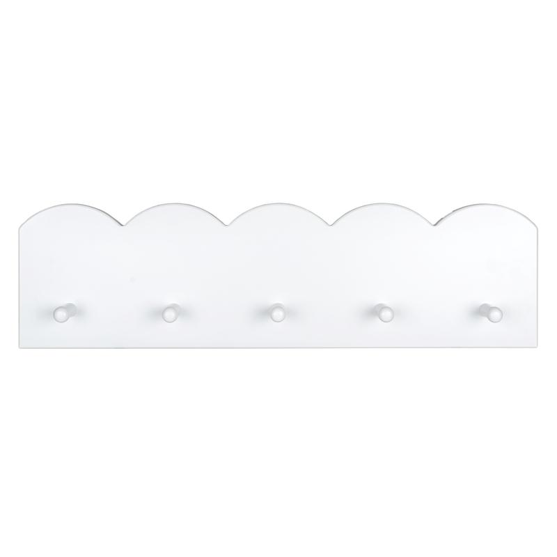Garderobe Buche weiß 70cm handmade
