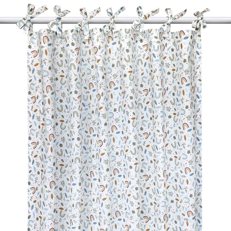 Vorhang 'Regenbogen' H 240cm handmade