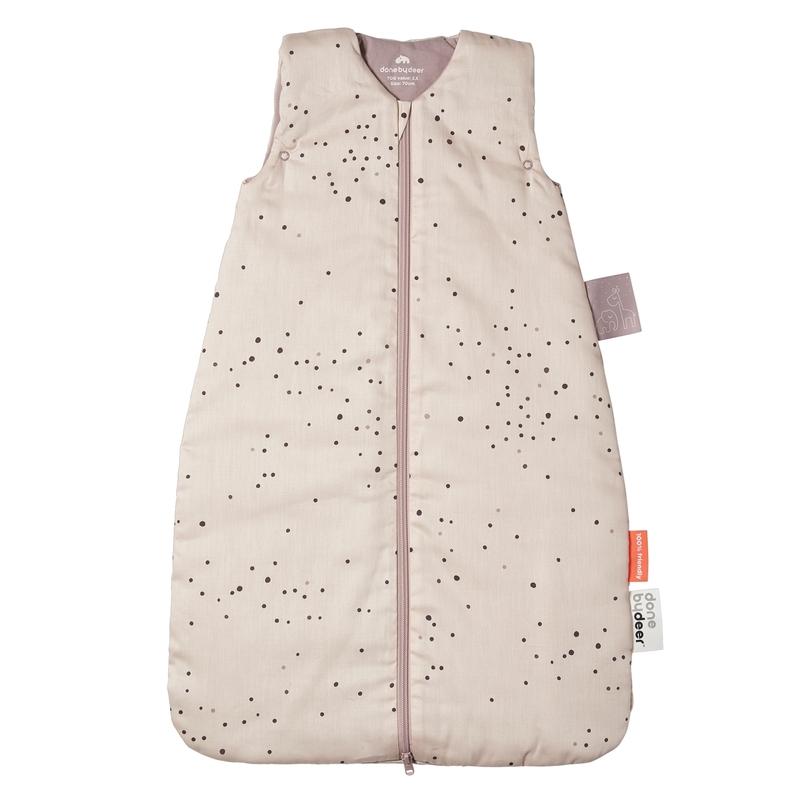 Schlafsack 'Dreamy Dots' puderrosa 70cm