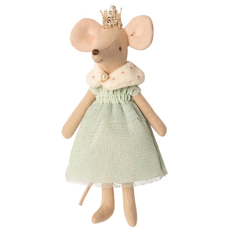Königin Maus mint/beige 15cm (Micro)