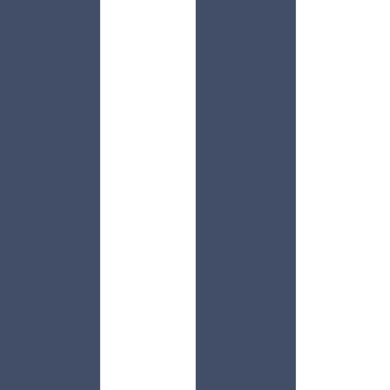 Vliestapete 'Maxi Streifen' dunkelblau/weiß