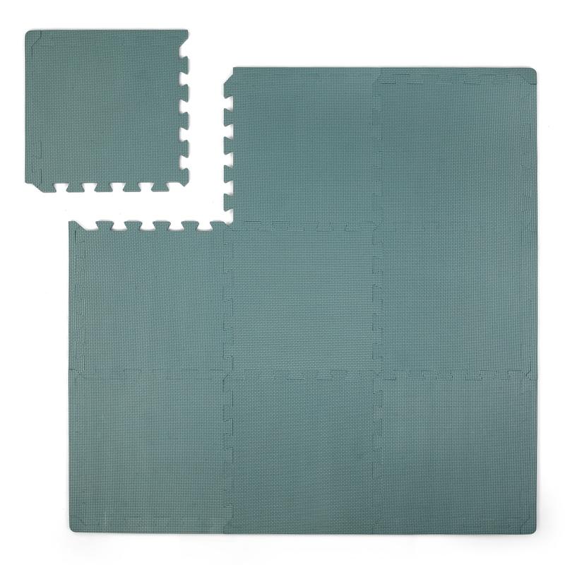 Puzzlematte Schaumstoff softjade 100x100cm