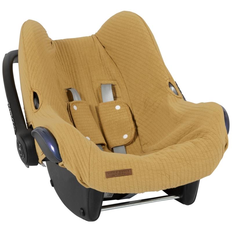 Sitzbezug 'Pure' senfgelb für Babyschale