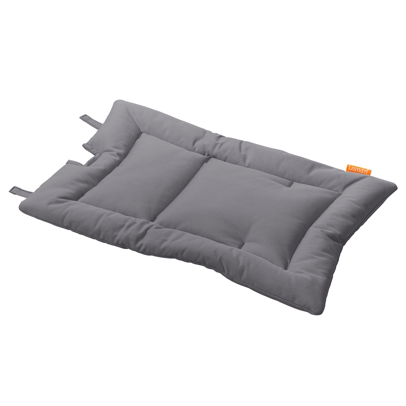Sitzkissen für Hochstuhl grau 50X30cm