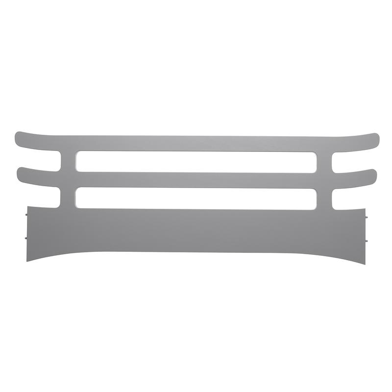 Rausfallschutz für Kinderbett Buche grau
