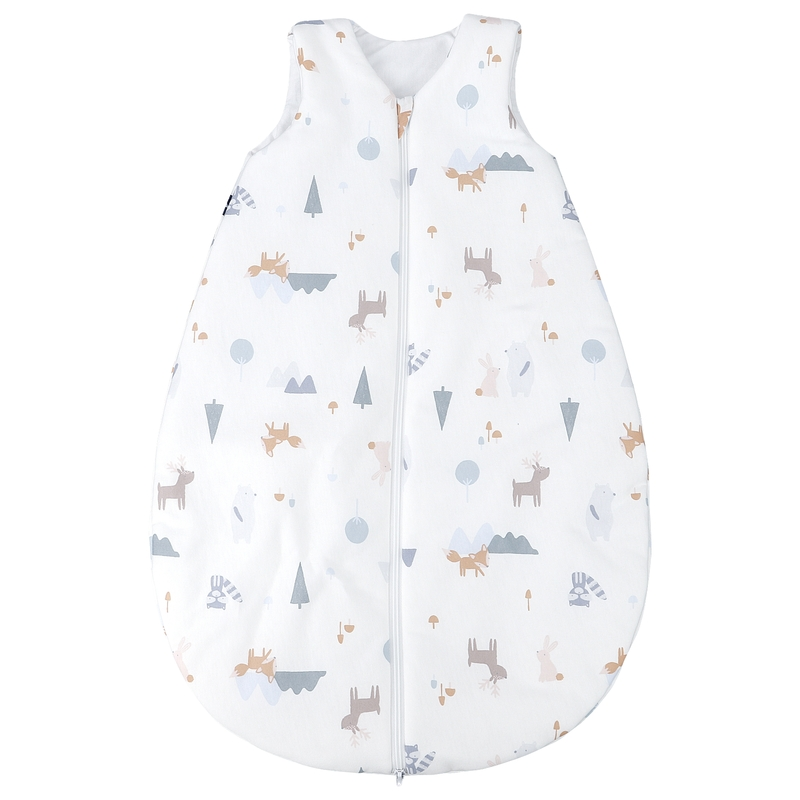 Sommerschlafsack 'Fuchs' pastell
