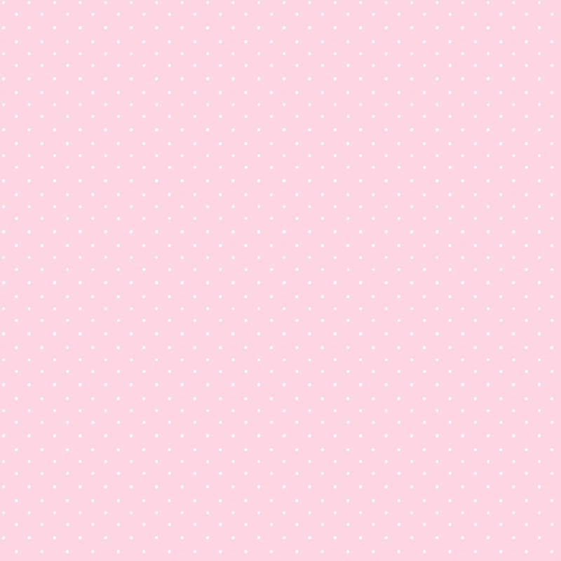 Vliestapete 'Pünktchen' rosa