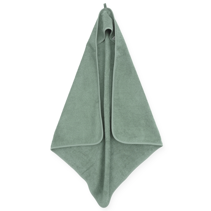 Kapuzenhandtuch grün ca. 75x75cm