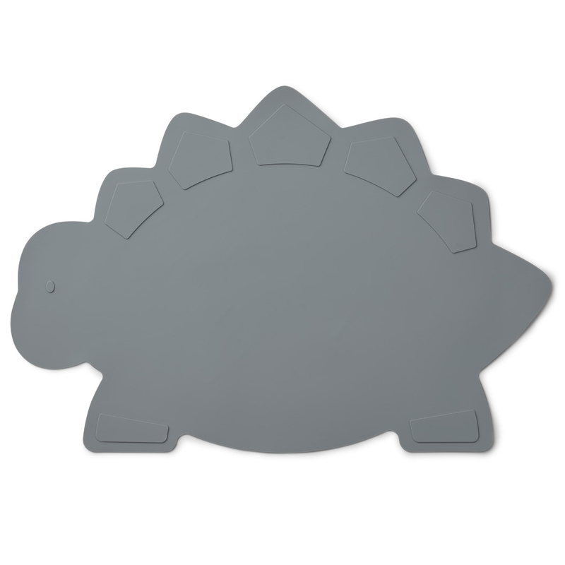 Tischset 'Dino' Silikon blau ca. 45cm