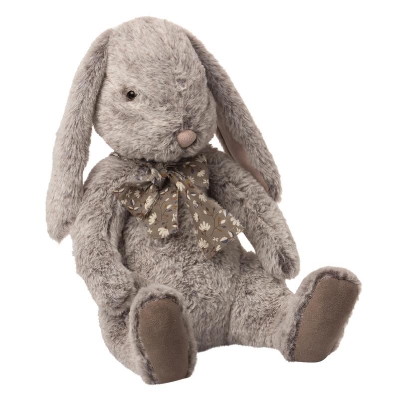 Kuschelhase 'Fluffy' Plüsch grau/braun 43cm