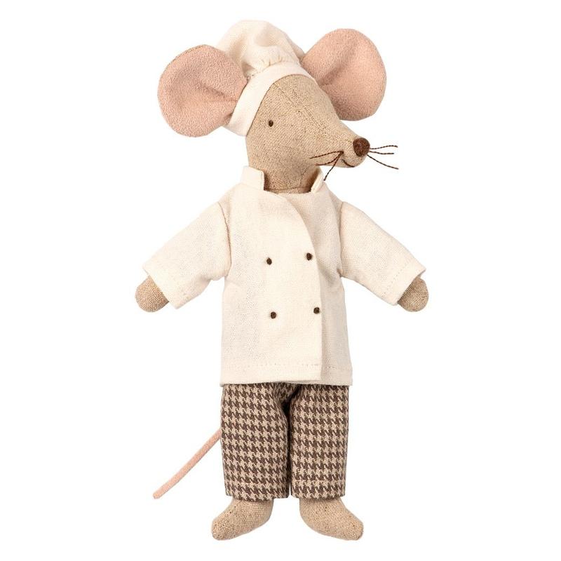 Chefkoch Maus beige 15cm (Micro)