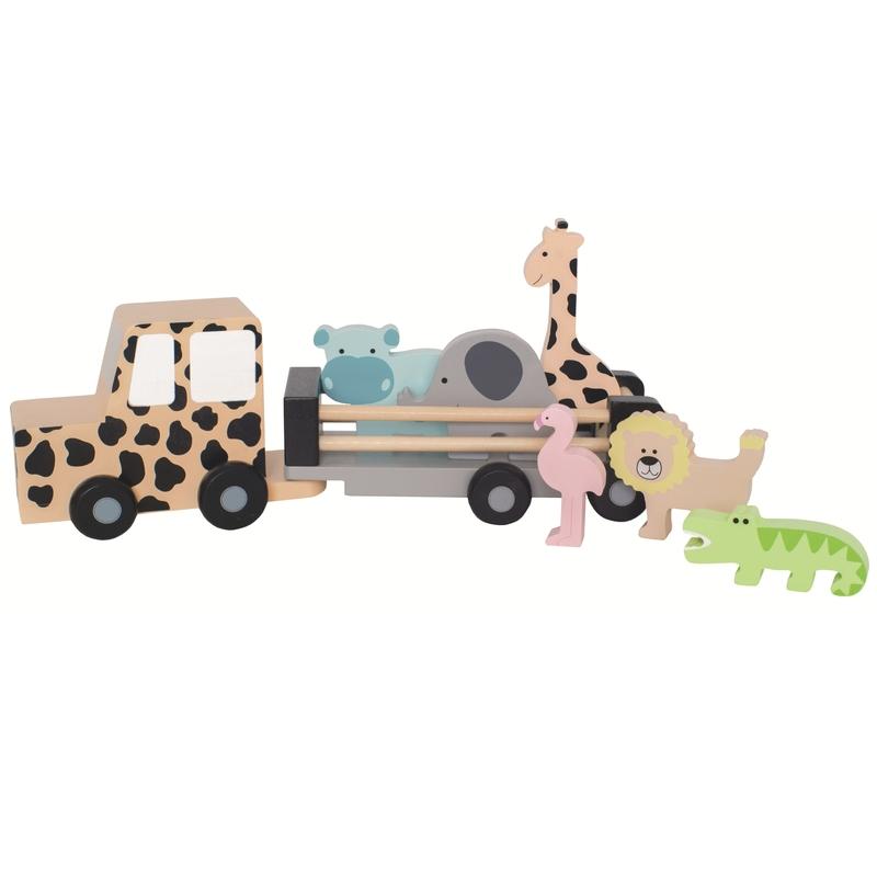 Jeep mit Tieren 'Safari' ab 18 Monaten
