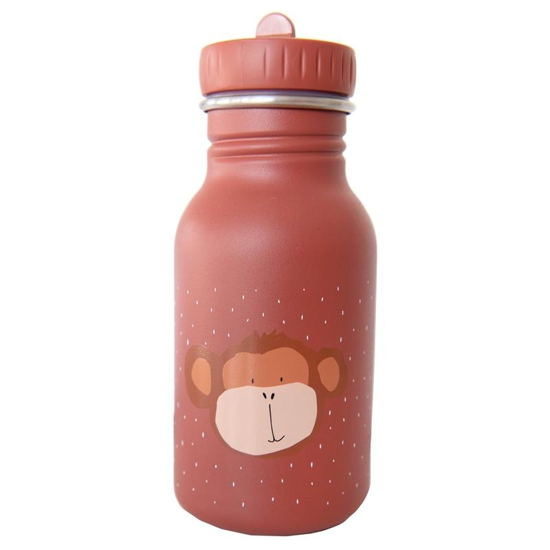 Trinkflasche 'Affe' Edelstahl rostrot 350ml