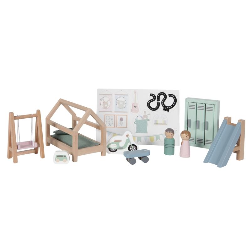 Puppenhausmöbel 'Kinderzimmer' ab 3 Jahren