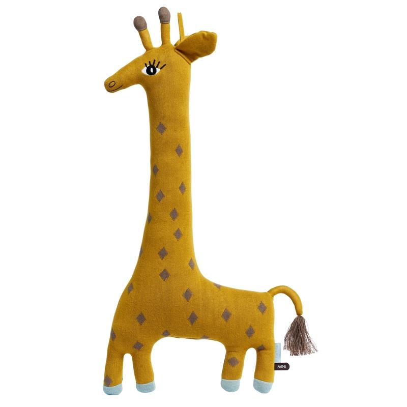 Kuscheltier 'Giraffe Noah' senfgelb 64cm