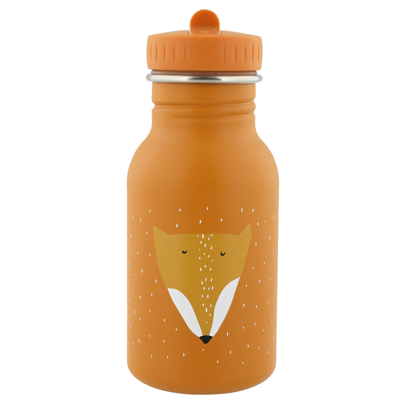 Trinkflasche 'Fuchs' Edelstahl orange 350ml