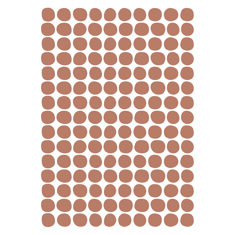 Wandsticker 'Basic Punkte' terra 150-tlg.
