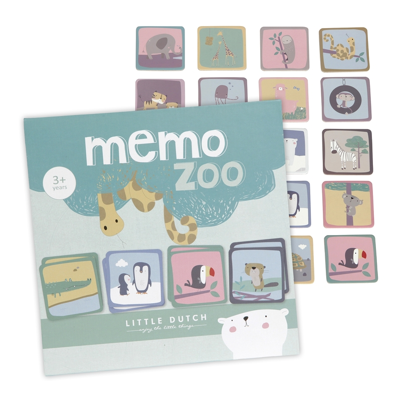 Memorie 'Zootiere' pastell ab 3 Jahren