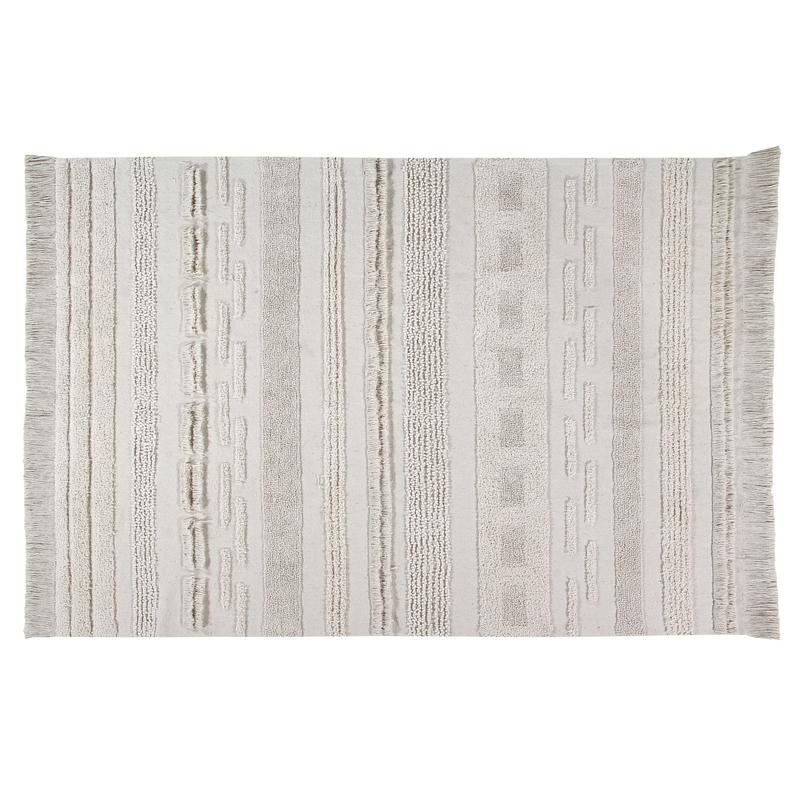 Teppich 'Air' natur Baumwolle/Canvas