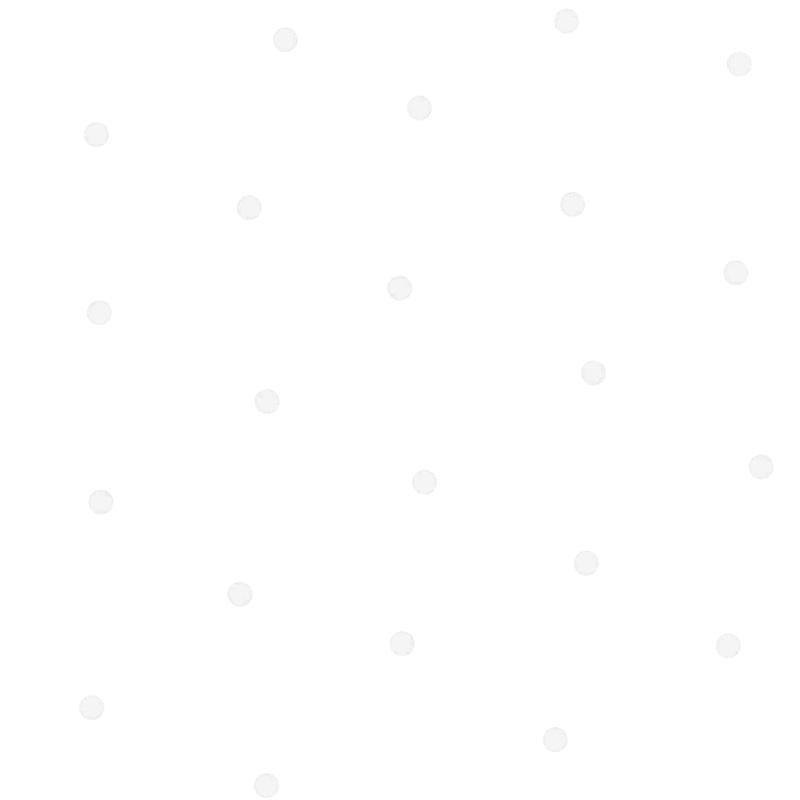 Stoff 'Punkte' weiß/halbtransparent