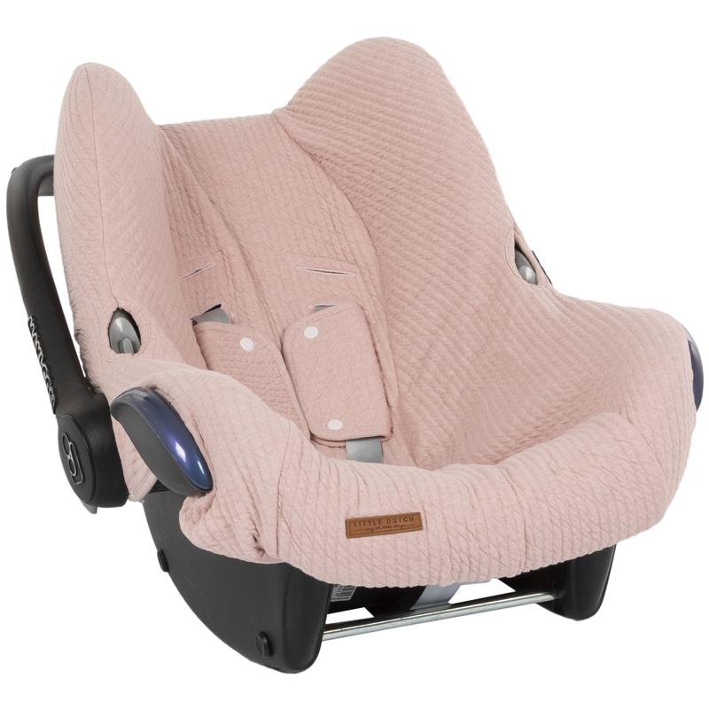 Sitzbezug 'Pure' altrosa für Babyschale