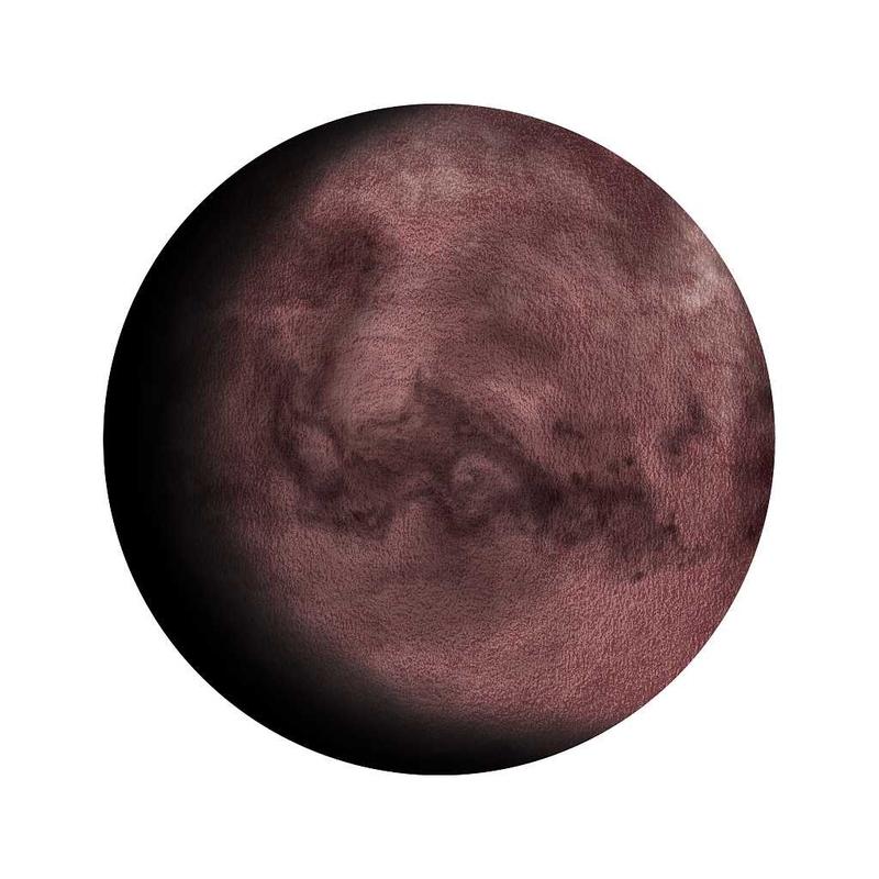 Wandsticker 'Mars' handgezeichnet