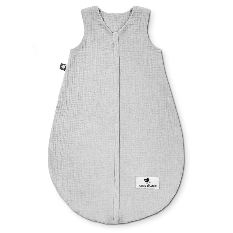 Sommerschlafsack 'Terra' Musselin grau