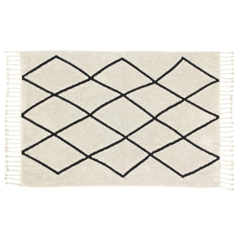Teppich 'Bereber' natur/schwarz 140x200cm