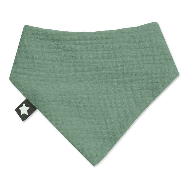 Halstuch 'Terra' Musselin grün ca. 17cm