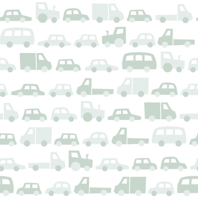 Vliestapete 'Autos & Fahrzeuge' mint