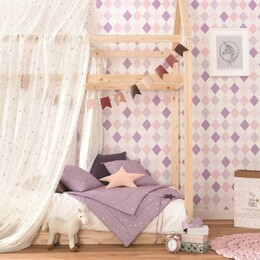 Kinderzimmer lila