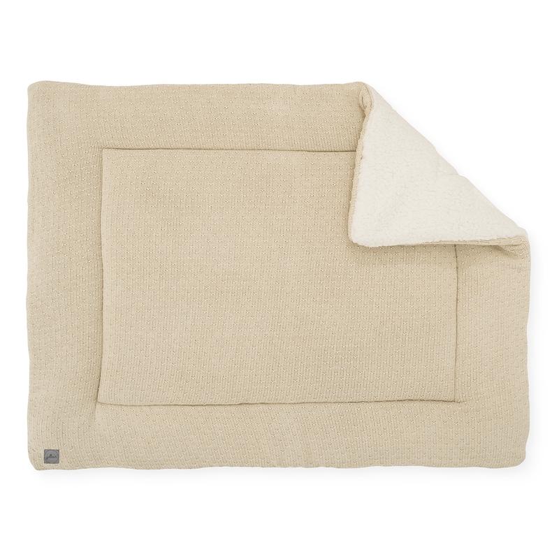 Krabbeldecke 'Bliss Knit' beige 80x100cm