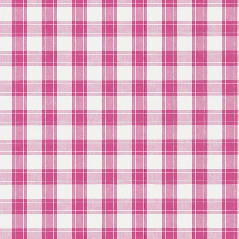 Kinderzimmer Stoff 'Karo' pink