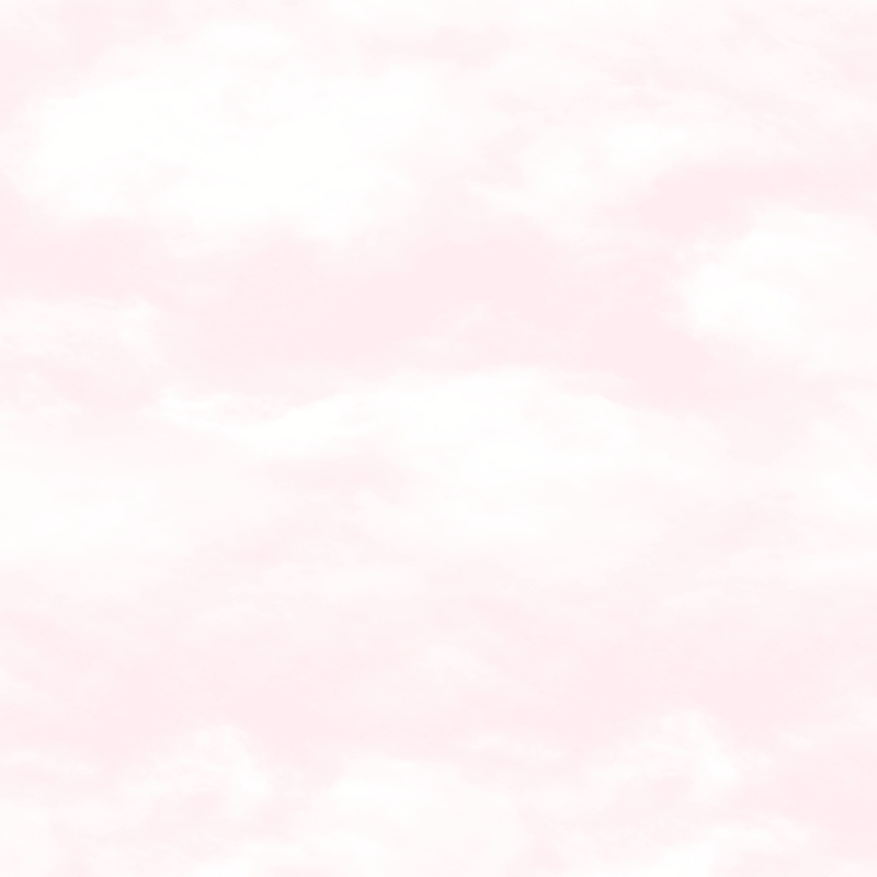 Vliestapete 'Wolken' puderrosa/weiß