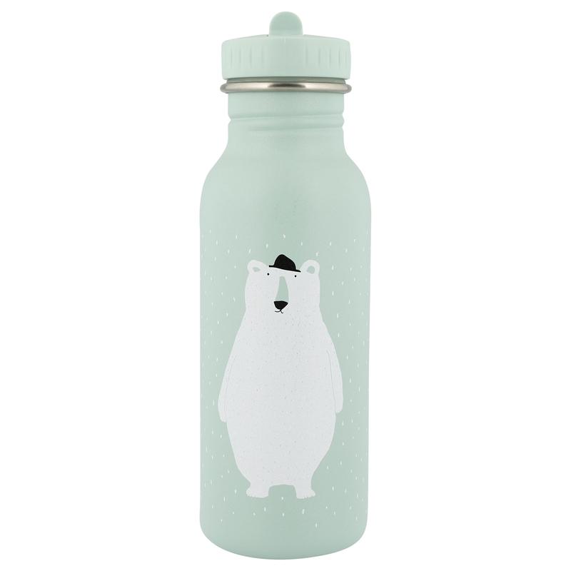 Trinkflasche 'Eisbär' Edelstahl mint 500ml