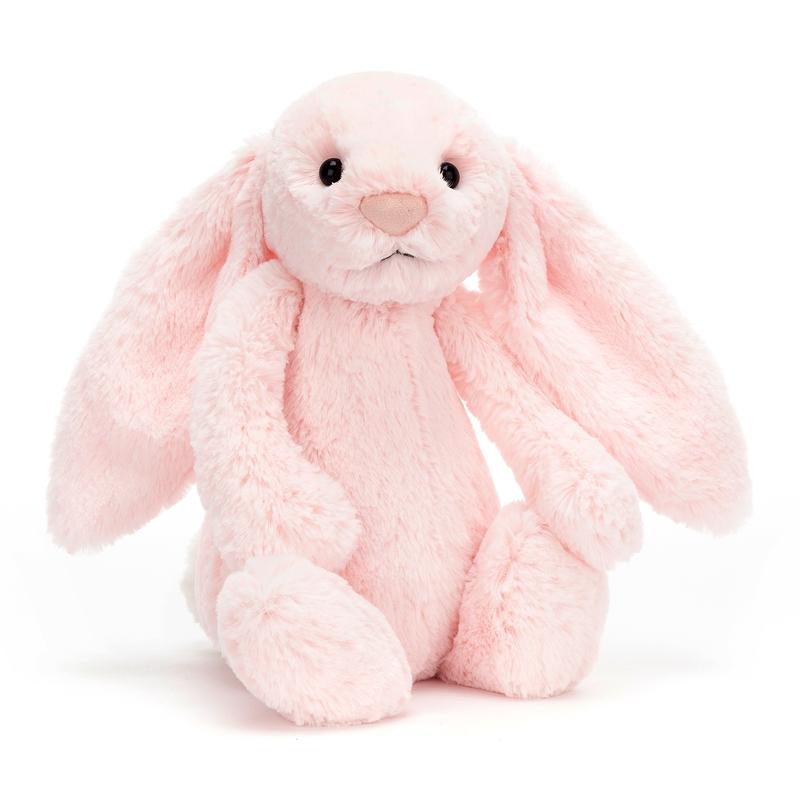 Kuscheltier 'Hase' Plüsch rosa 31cm