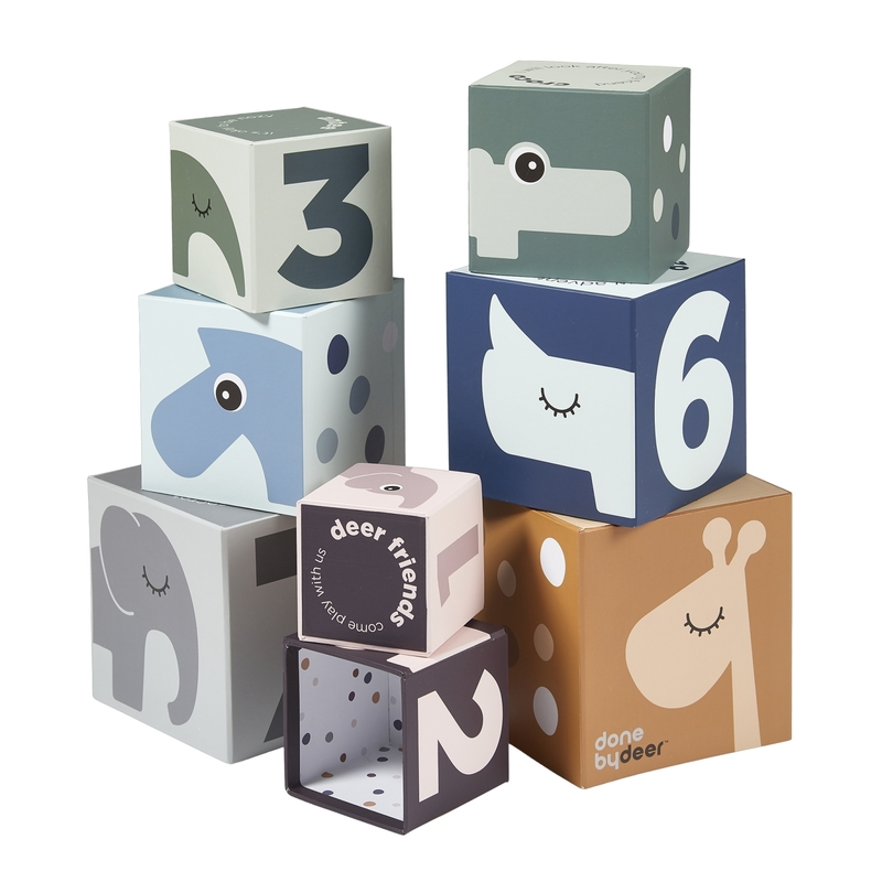 Stapelturm & Puzzle 'Tierfreunde' bunt ab 1 Jahr