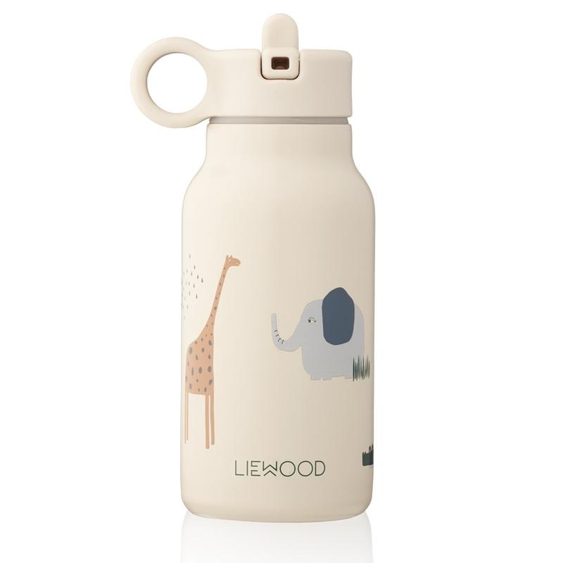 Trinkflasche 'Safari' Edelstahl creme 250ml