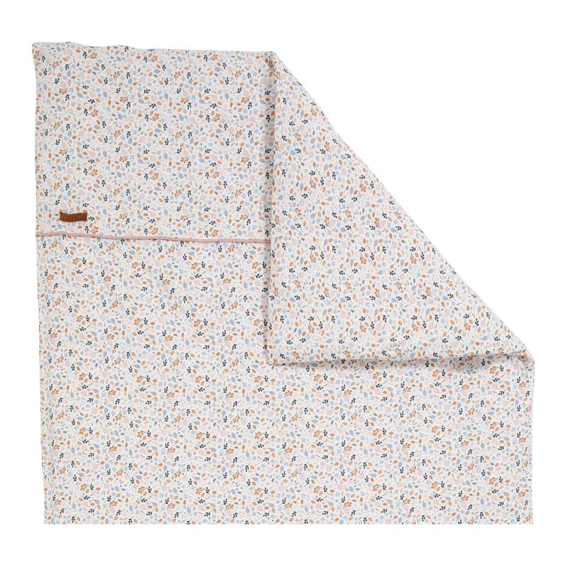 Wiegenbezug 'Spring Flowers' Jersey 80x80cm