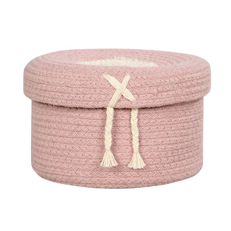 Aufbewahrungskorb 'Candy' rosa 20cm