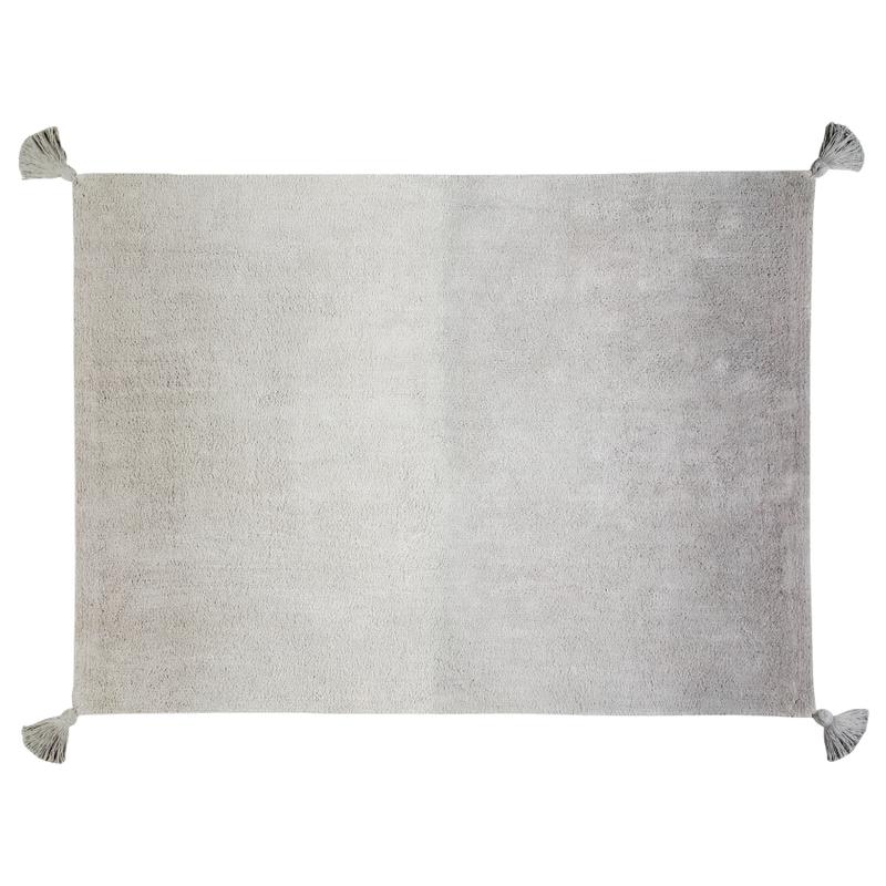 Teppich 'Farbverlauf' grau 120x160cm