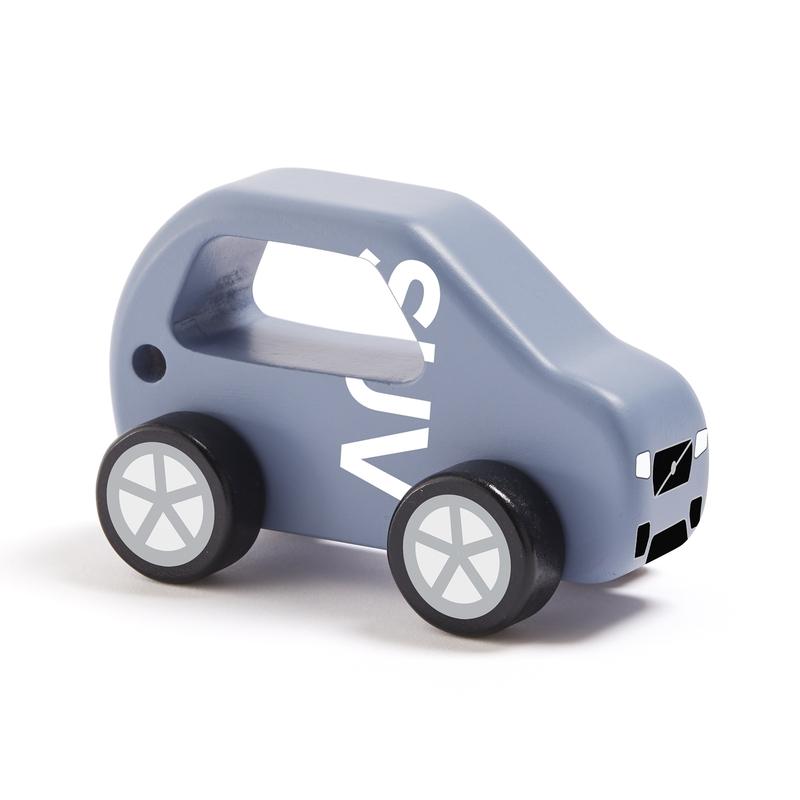 Holzauto SUV 'Aiden' blau 13cm ab 1 Jahr