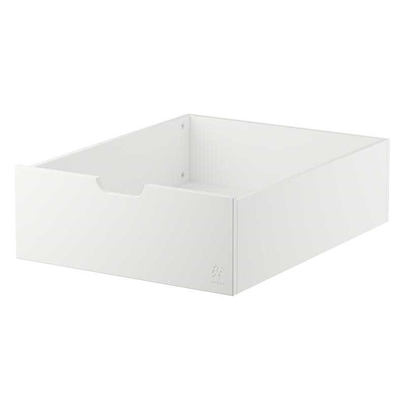 Bettschublade für Babybett/Juniorbett classic white