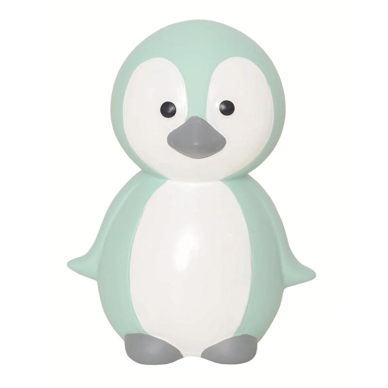 Spardose 'Pinguin' Keramik mint 15cm