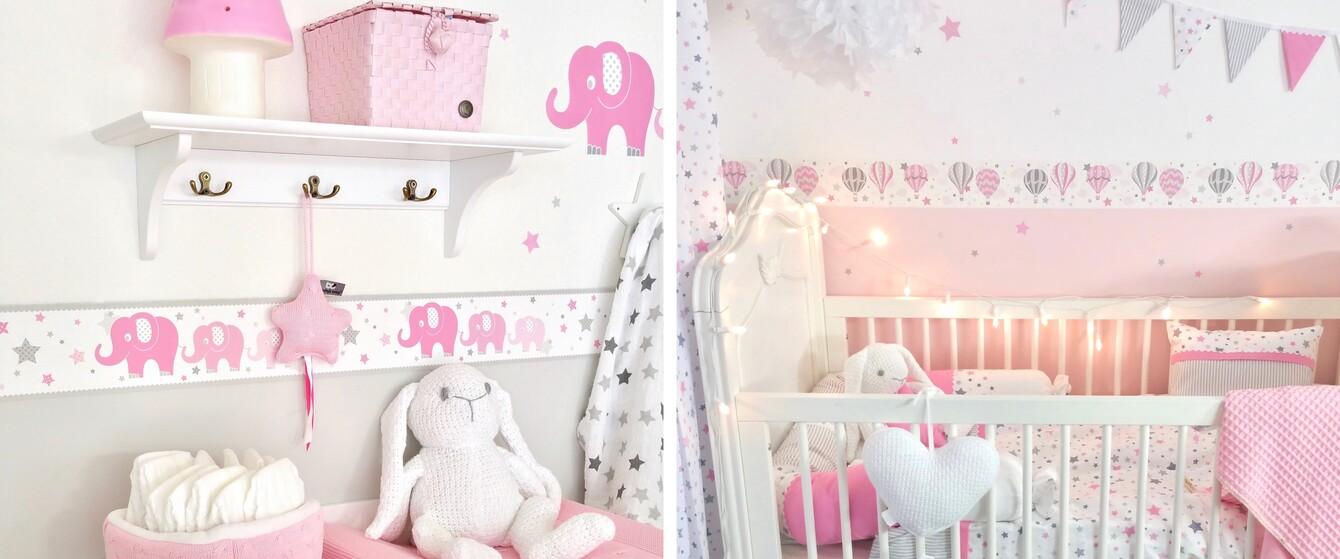 Babyzimmer Bordüren
