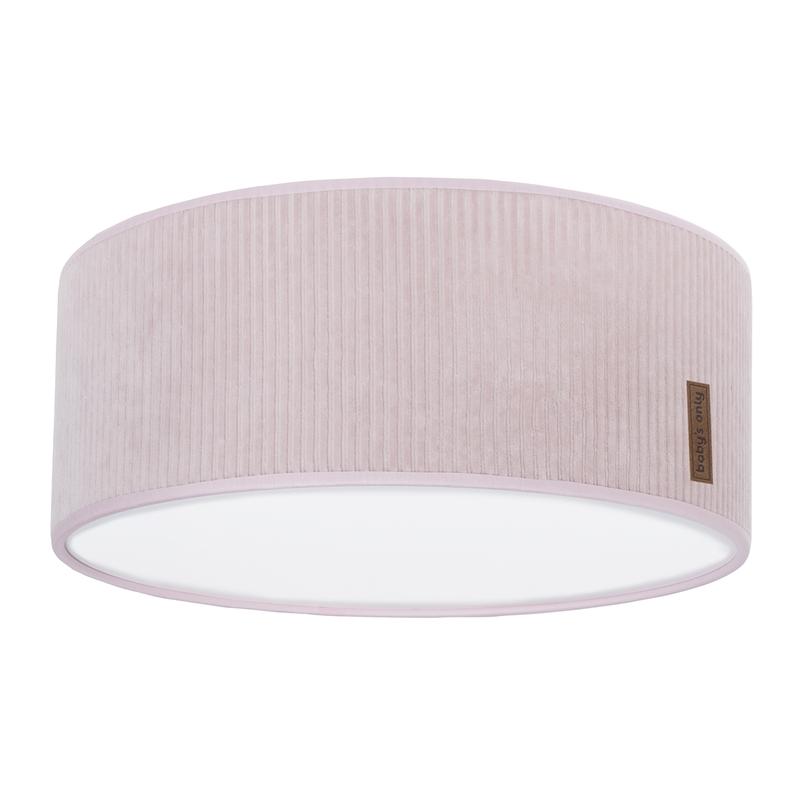Deckenlampe 'Sense' Samt rosa 35cm
