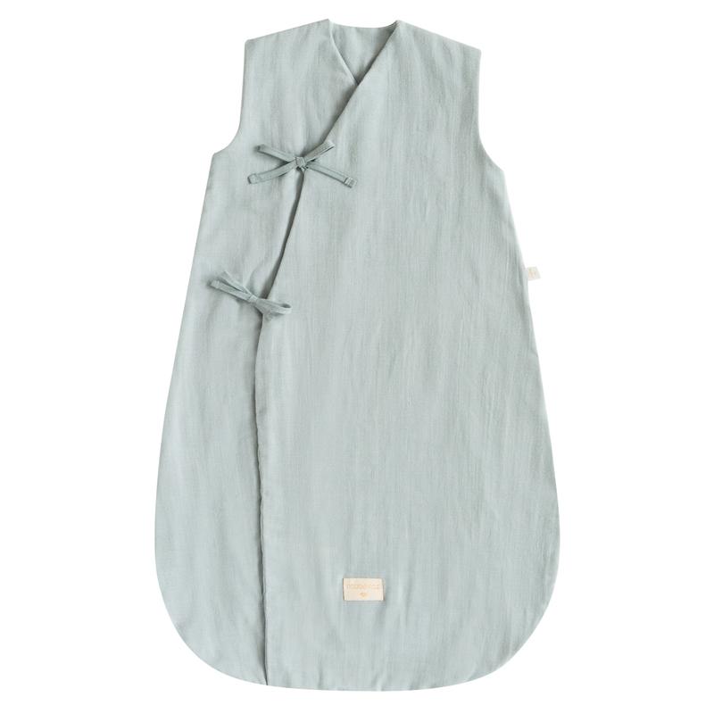 Bio Sommerschlafsack hellblau