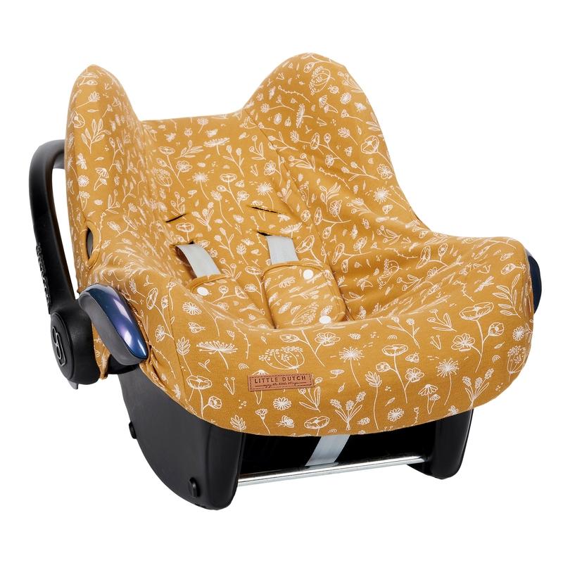Sitzbezug 'Wild Flowers' senf für Babyschale